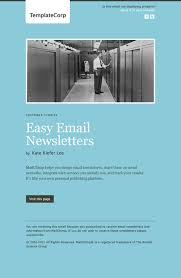 create email newsletter template 33 new email templates