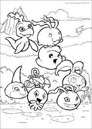 digimon color cartoon color pages printable cartoon