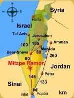 negev desert map jeep tours map guide ramon crater and zin valley negev desert