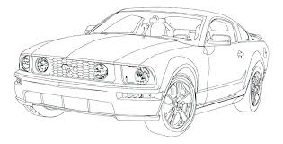 free coloring pages of mustang cars mustang car colouring pages free coloring to print cars remarkable