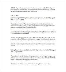 math tutor resume math tutor resume sle math tutor resume sles visualcv