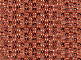 ethiopian mosaic giftwrap wanganegresse spoonflower