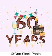 60 years birthday card clipart vector of 60 years birthday card vector elements