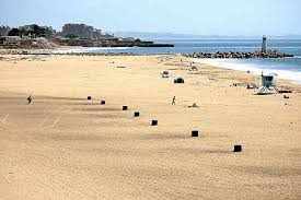 Beach Fire Pit by Santa Cruz County Braces For Large Crowds Influx Of Trash