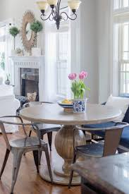 Dining Room Entryway by Breakfast Nook Update With Round Farmhouse Table The Home I Create
