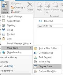 creating and using an outlook template onsite software training
