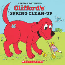 clifford u0027s spring clean up clifford the big red dog norman