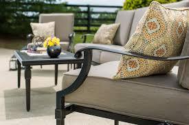 6 Piece Garden Furniture Patio Set - lila 6 piece patio furniture conversation set grey aluminum