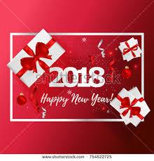 new years greeting card new years greeting card vector illustration stock vector 754622725