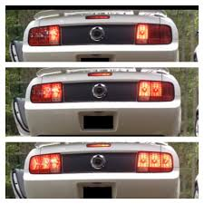 99 04 mustang sequential tail light kit raxiom mustang led sequential tail light kit plug and play 49221