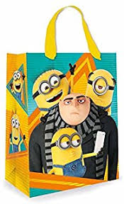 minion gift wrap despicable me3 gift wrap 2 sheets and 2 tags co uk office