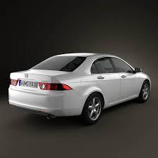 2003 honda accord horsepower honda accord sedan 2003 3d model hum3d