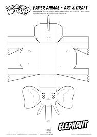 paper animal elephant art u0026 craft how are you mr dan