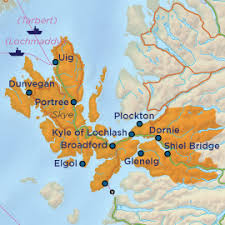 kyle map and lochalsh guide scottish highlands welcome to