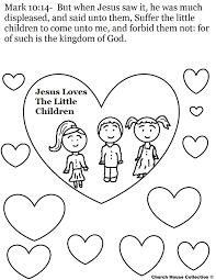 jesus coloring pages fabulous jesus loves the children coloring