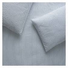 seersucker blue and white kingsize duvet cover buy now at habitat uk
