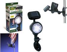 Flag Pole Lights Solar Powered Flag Pole Light Ebay