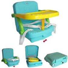 Portable Baby High Chair Mountain Buggy Pod Clip On Portable High Chair With Click Clack