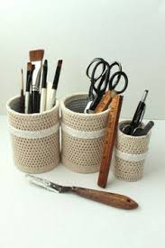 Shabby Chic Office Accessories by Shabby Chic Office Pencil Holders Organizers By Creativecarmelina