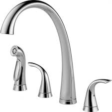 Delta Kitchen Faucet Handle by Delta Kate Single Handle Pull Down Sprayer Kitchen Faucet With In