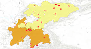 Kyrgyzstan Map Reach Online Mapping Tool