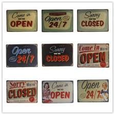 Vintage Home Decor Nz Open Cafe Signs Nz Buy New Open Cafe Signs Online From Best