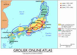 Sea Of Japan Map Mapping Early Modern Japan As A Multi State System Geocurrents