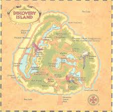 Map Of Animal Kingdom In Memoriam Discovery Island Laughingplace Com