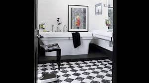 black and white bathrooms youtube