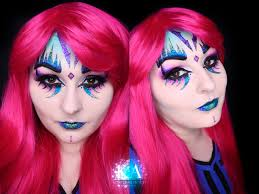 glitter monster halloween makeup w tutorial by katiealves on