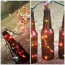 Wine Bottles With Lights 28 Outdoor Lighting Diys To Brighten Up Your Summer