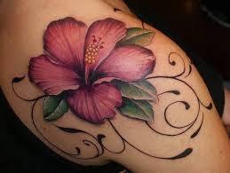 23 colorful hawaiian flower tattoos with meanings hawaiian flower