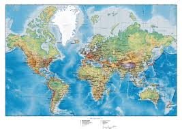 World Map Wall Poster by 92 Best Cartes Du Monde Images On Pinterest World Maps World