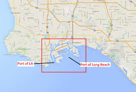 Map Of Long Beach Trade U0026 Logistics Los Angeles County Economic Development