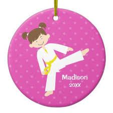 personalized karate ornament zazzle