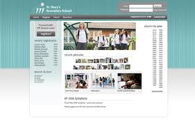 high school web design class college high school alumni website design software