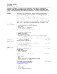 Social Work Resume Objective Examples by Chef Resume Template Resume Template And Professional Resume