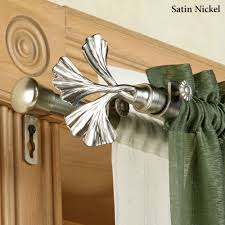 fortune double curtain rod set 28