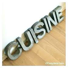 lettre cuisine deco lettres daccoratives cuisine lettre deco cuisine lettre deco cuisine