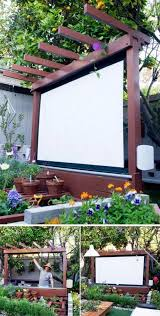 Backyard Theater Ideas Best 25 Outdoor Projector Ideas On Pinterest Outdoor Projector