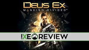 deus ex mankind divided review for xbox one xbox enthusiast
