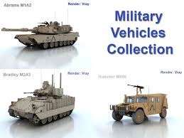 military vehicles military vehicles collection 3d model vehicles 3d models vehicle