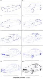 cartoon car drawings step fandifavi com