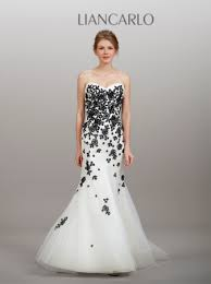 black and white wedding dresses black and white wedding dresses 2014 pictures ideas guide to