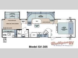 Teardrop Camper Floor Plans New 2013 Forest River Rv Surveyor Select Sv 305 Travel Trailer At