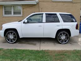 24s and i level in the front chevy trailblazer trailblazer ss