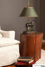 Lamp Tables Patagonia Rustic Tree Stump Side Tables