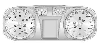 chevy equinox check engine light reset chevrolet equinox warning lights gauges andindicators