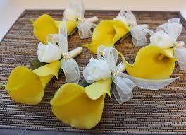 yellow calla boutonniere yellow calla boutonniere yellow calla