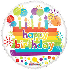 balloons wholesale 18 happy birthday candles mylar foil balloons wholesale